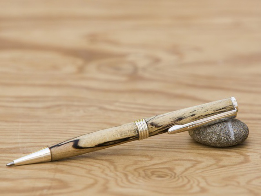 Streamline Pen Buchenholz mit Stockflecken