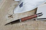 Donegal Pen Sierra Elegant Silver Fliederholz