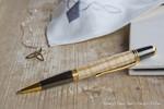 Donegal Pens Sierra Elegant Gold Eschenholz