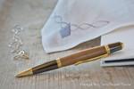 Donegal Pens Sierra Elegant Gold Pflaumenholz